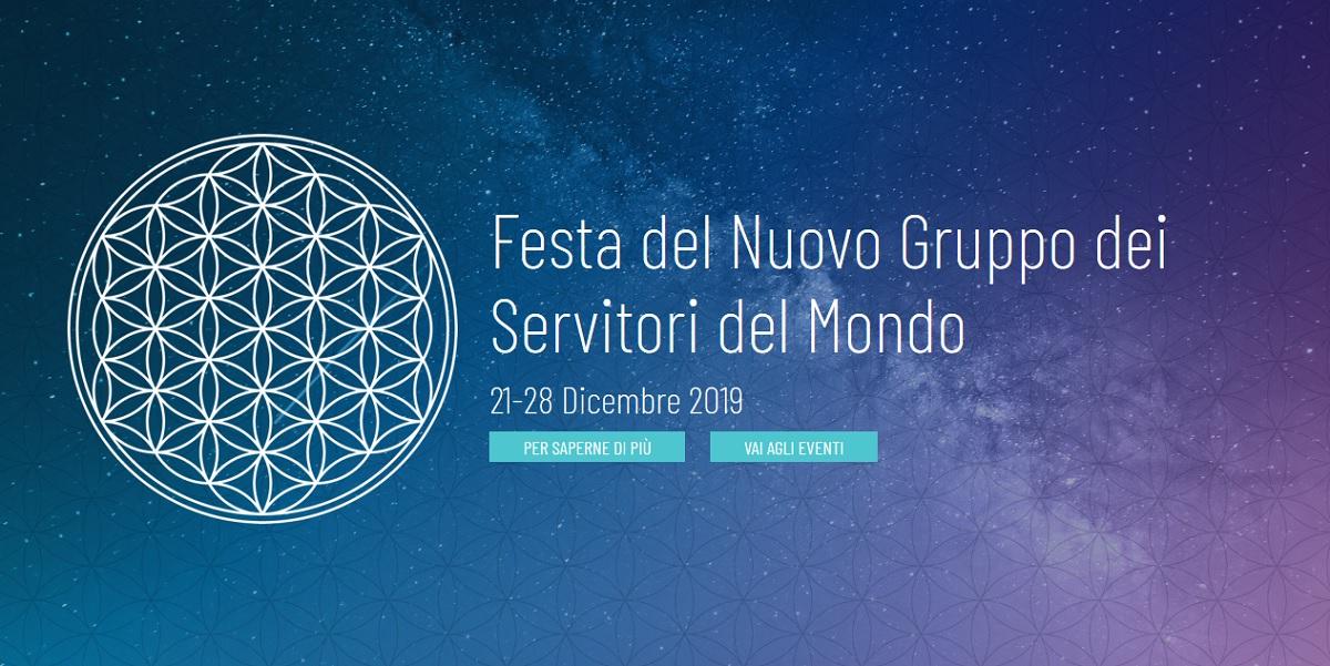 Festa Del Nuovo Gruppo Dei Servitori Del Mondo 21 28 Dicembre 2019